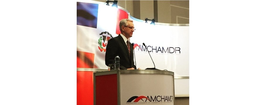 Remarks by Chargé d'Affaires, a.i. Robert Copley at AMCHAMDR Luncheon