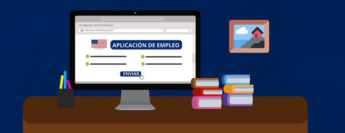 Embajada de los Estados Unidos anuncia plataformas de reclutamiento en línea